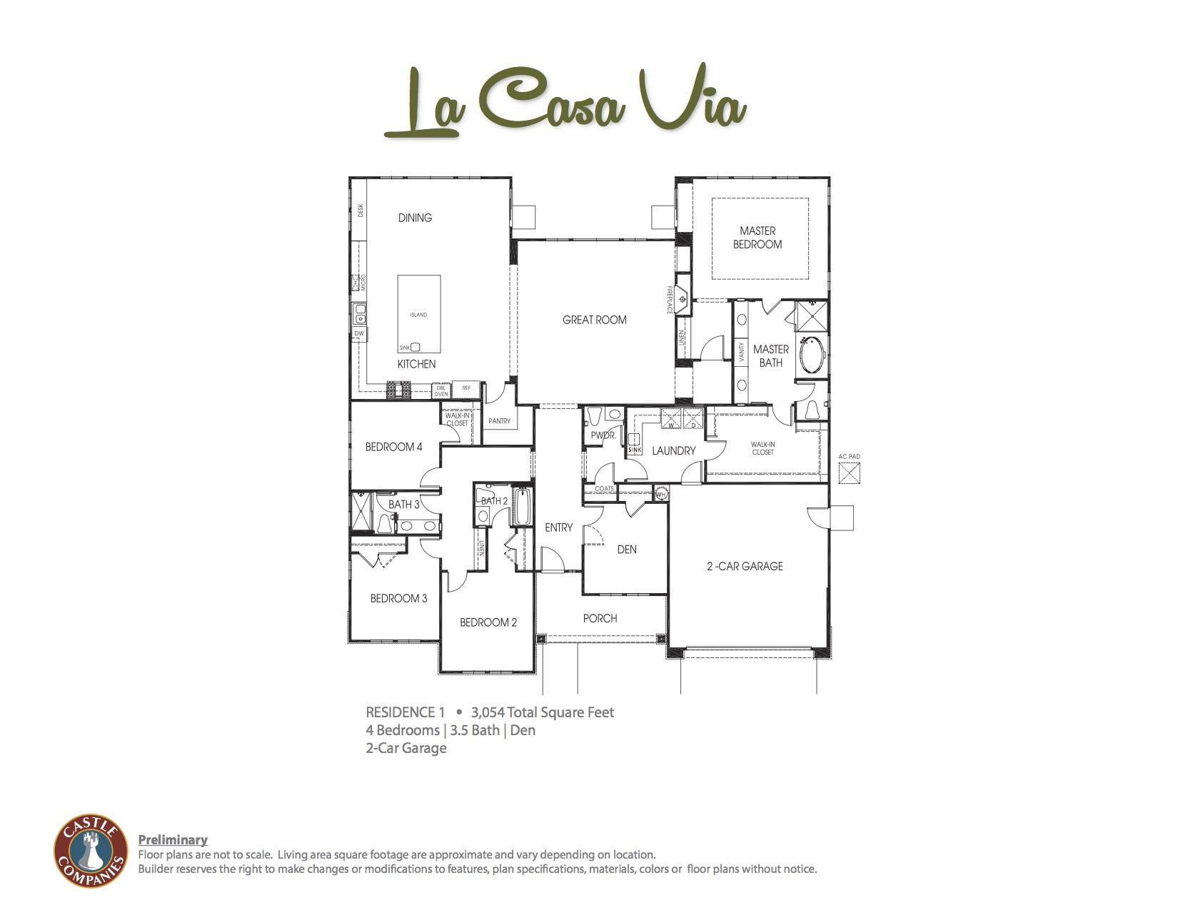 La Casa Via Floor Plan 1 copy