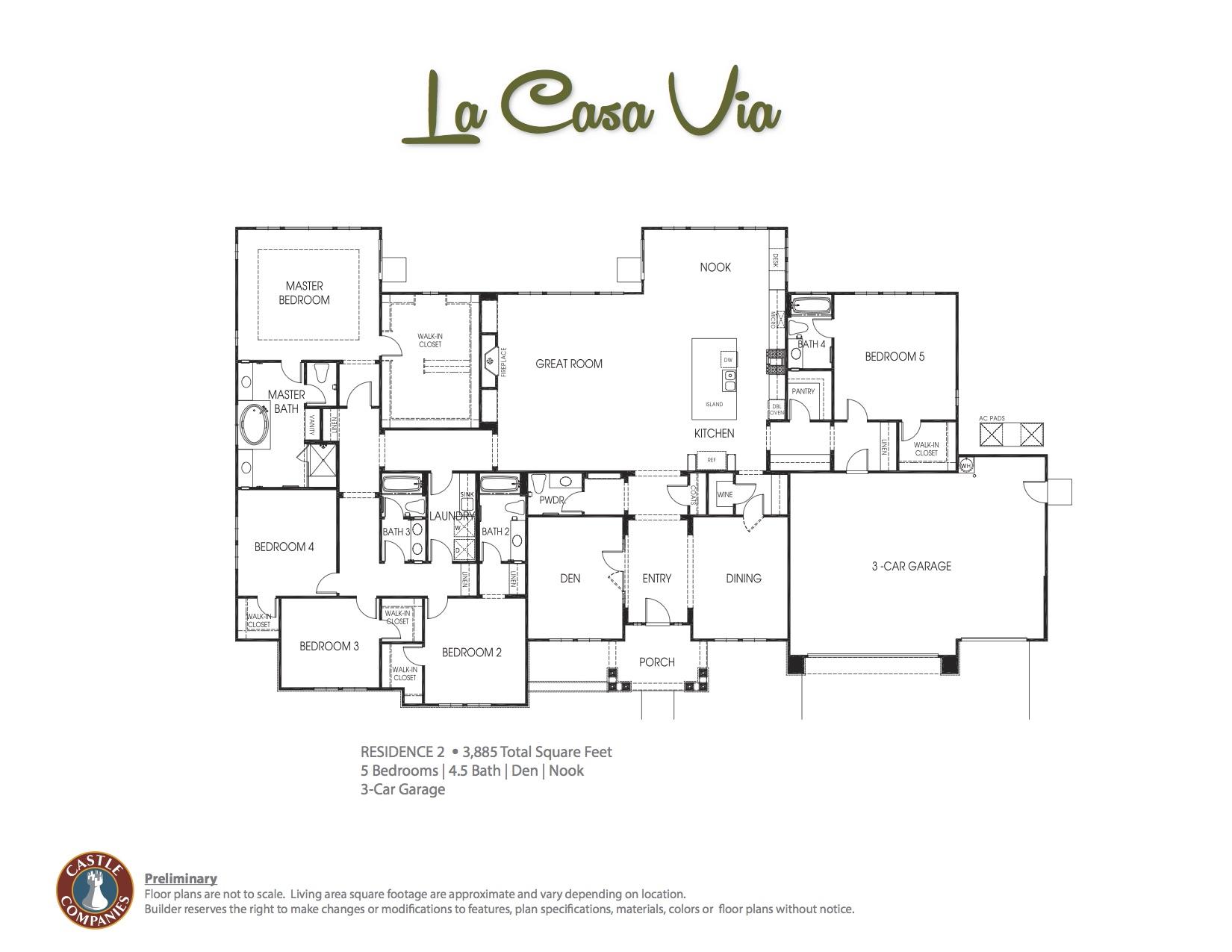 La Casa Via Floor Plan 2 copy